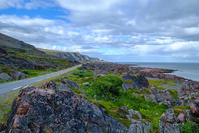 Straße zum Eismeer August 2017
