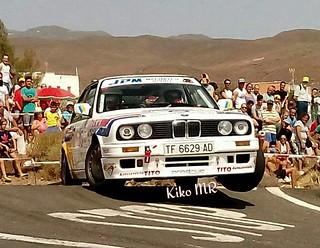 Manolo Santana cumple 35 años como piloto de rallys