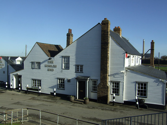 The Worlds End Pub at Tilbury