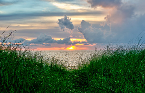 sunset ocean gulf florida fla fl palmetto coast beach dune summer emerson point emersonpoint floridasunset gulfsunset palmettofl palmettoflorida beautiful scenery shore water sky sun clouds landscape hdr