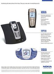 Nokia phones, 2003 ad