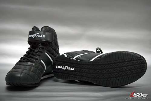 Goodyear Clutch Racing Shoes Review - Bottom