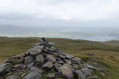 The summit of Arthur's Pike