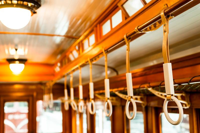 モハ1形式 電車内