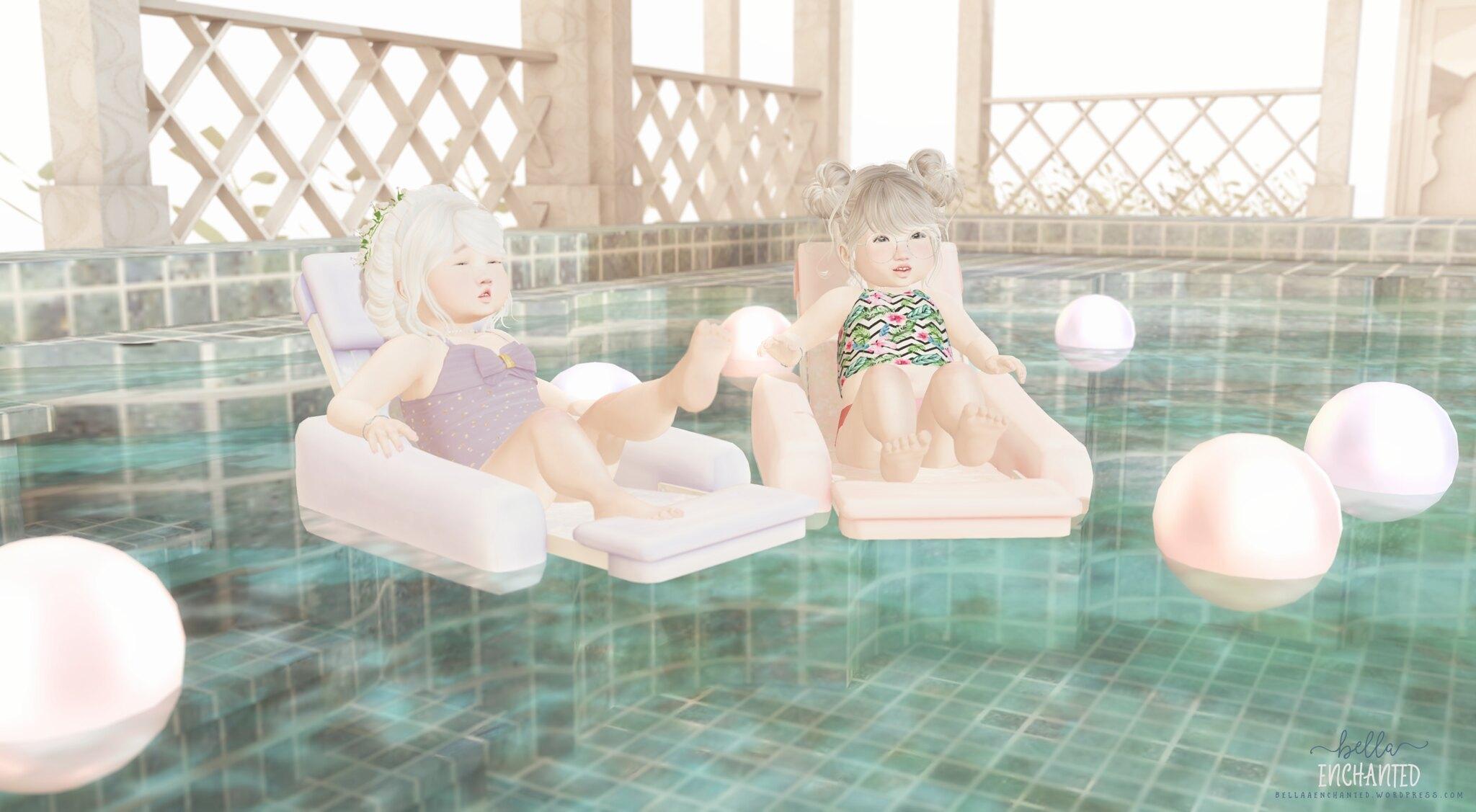 ʚ Poolside ɞ