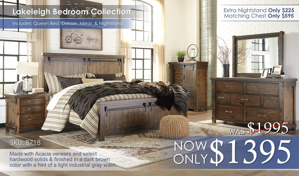Lakeleigh Bedroom Set B718