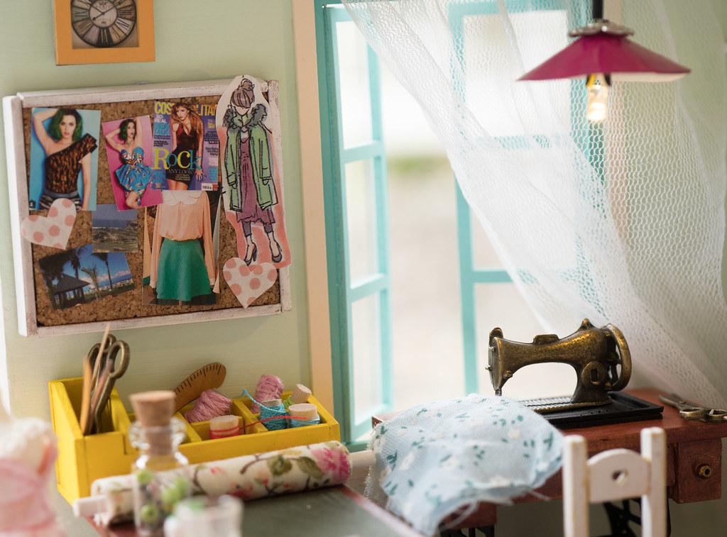 DIY Miniature Tailor Shop for Figures – Nendoroid, Cu-poche, Petite ...