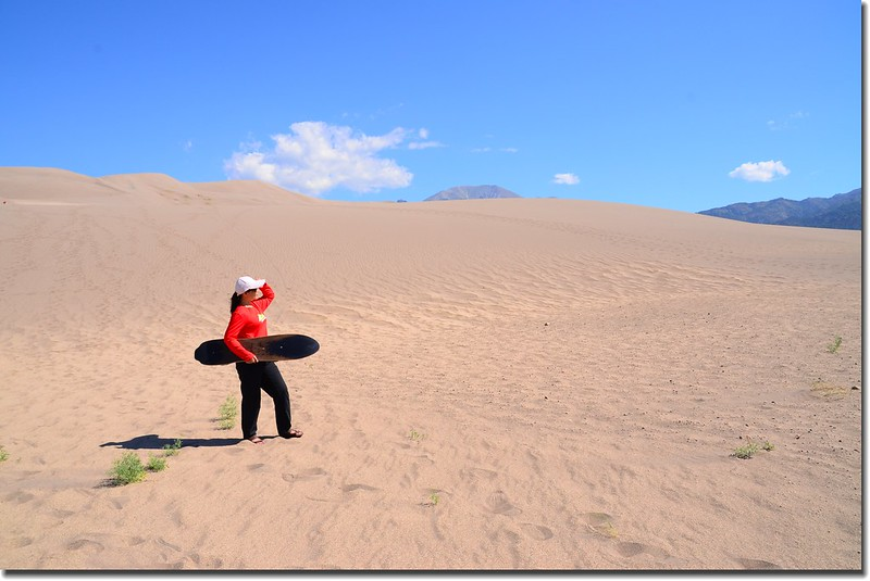Sledding at Great Sand Dunes  (38)