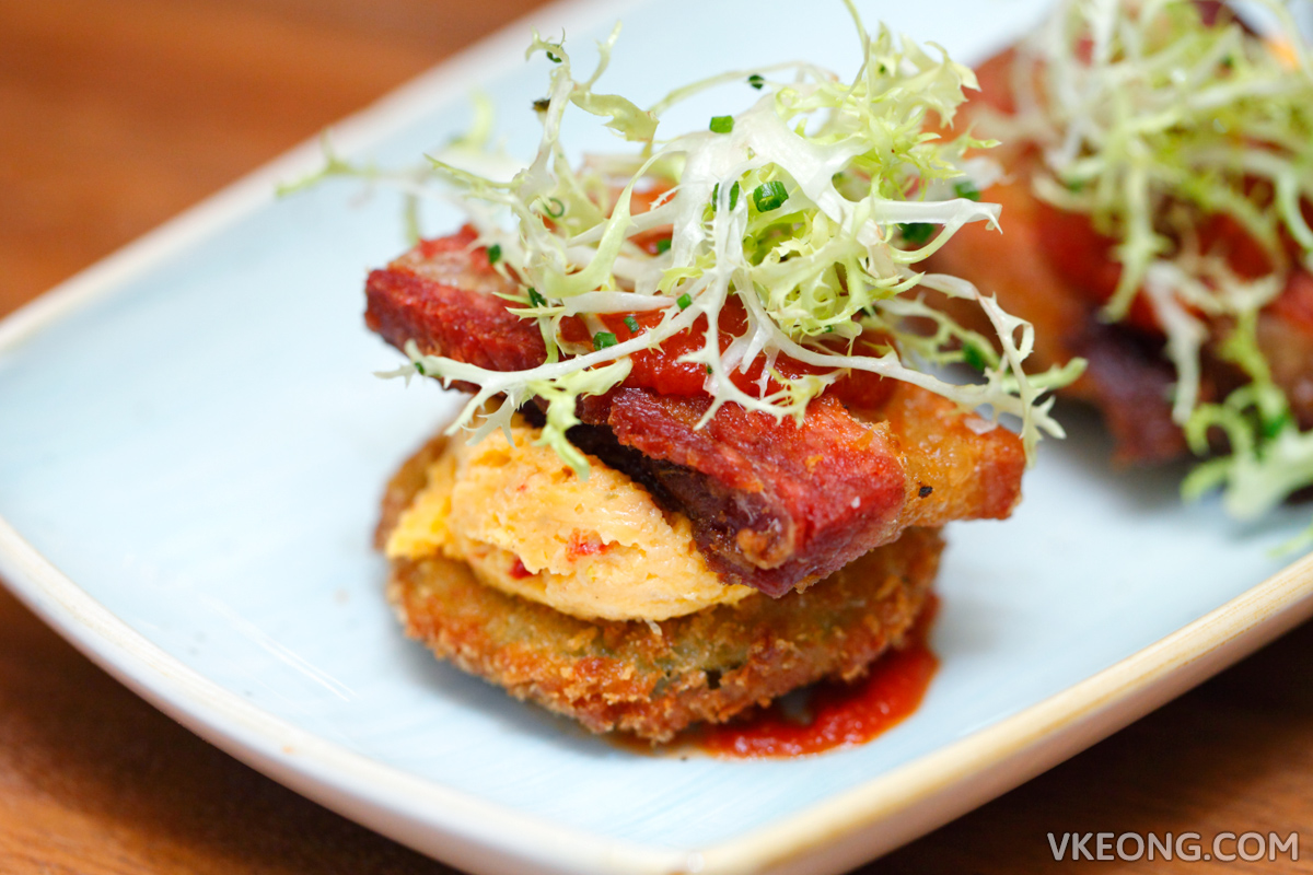 The Bird Marina Bay Sands Fried Green Tomato BLT