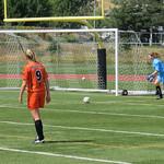Danielle Robertson goal kick (Aug 16, 2017)