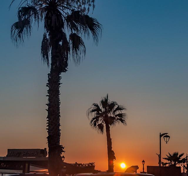 Sunset in Beirut, Lebanon