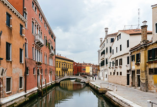 Embarkment Near The Canal In Venice Stock Photos Foto Flickr