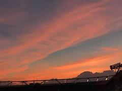 U2 concert sunset