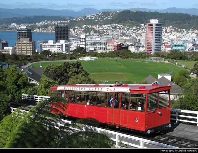 Wellington Cable Car, New Zealand