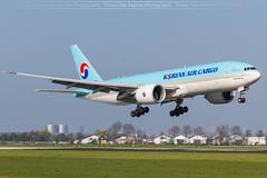 Korean Air Cargo (HL8005) B777F at Amsterdam (EHAM)