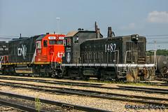 IC 1482 | EMD SW14 | CN Johnston Yard