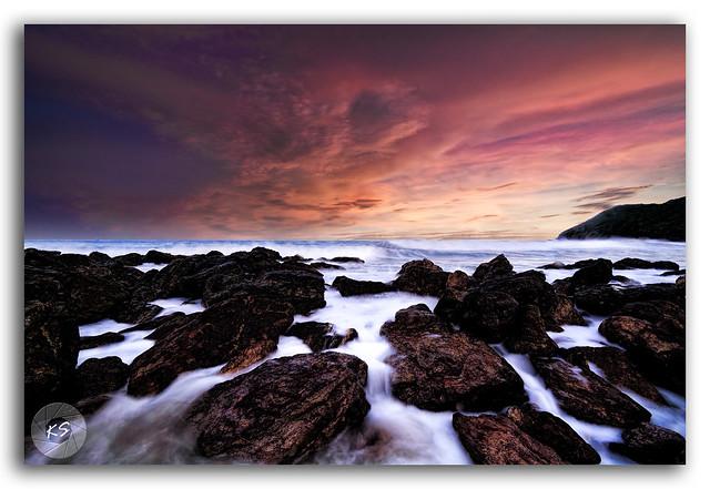 The Captivating view of Yarada Beach!