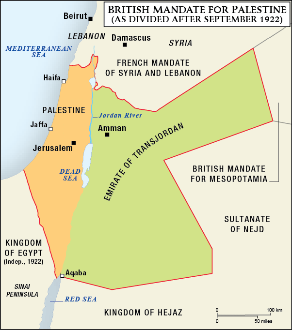 British Mandate of Palestine #67 (1927) – A Stamp A Day