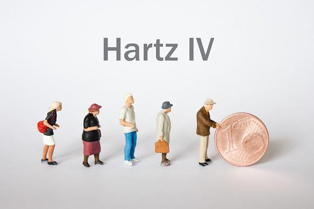 Leute folgen Geld - Hartz 4