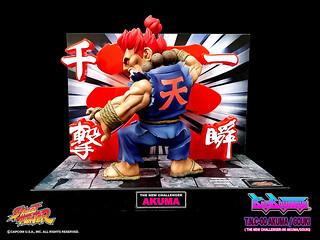 殺意的波動最高等級招式!!BigBoysToys 快打旋風【豪鬼的真·瞬獄殺】Q 版聲光 第八彈 Street Fighter Akuma
