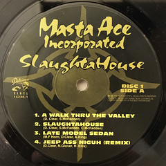 MASTA ACE INCORPORATED:SLAUGHTAHOUSE(LABEL SIDE-A)