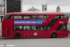 Wrightbus NRM NBFL - LTZ 1421 - LT421 - Go Ahead London - London 2017 - Steven Gray - IMG_0255