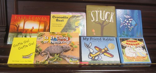 Some of the books we read this week