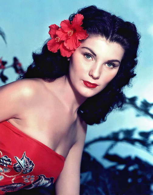 Bird of Paradise - 1951 - Promo Photo 2 - Debra Paget