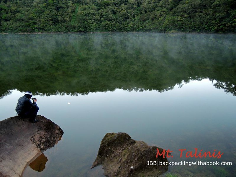 Lake Nailig in Mt. Talinis