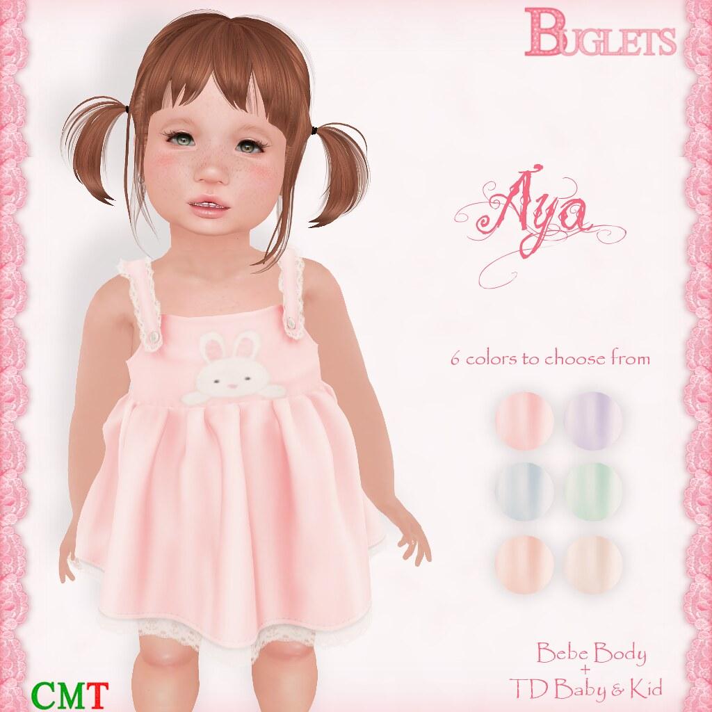 Aya Dress AD - SecondLifeHub.com