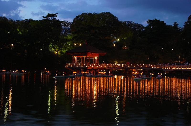 奈良 燈花会(浮見堂)