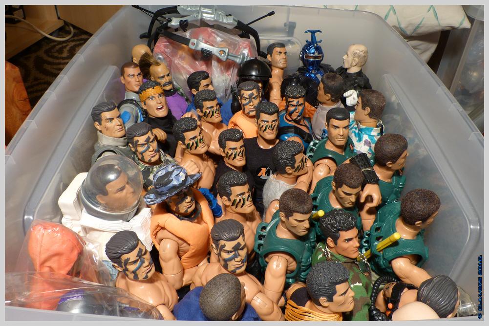 A Few of My Camo Faced Action Man Figures.. 36461182662_6f9439ede0_o