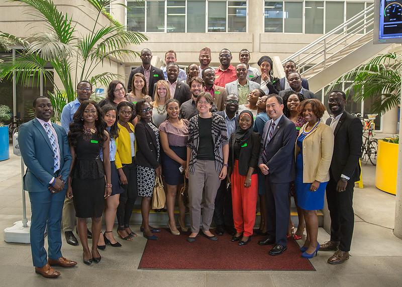 Mandela Washington Fellowship Visit 07/20/17