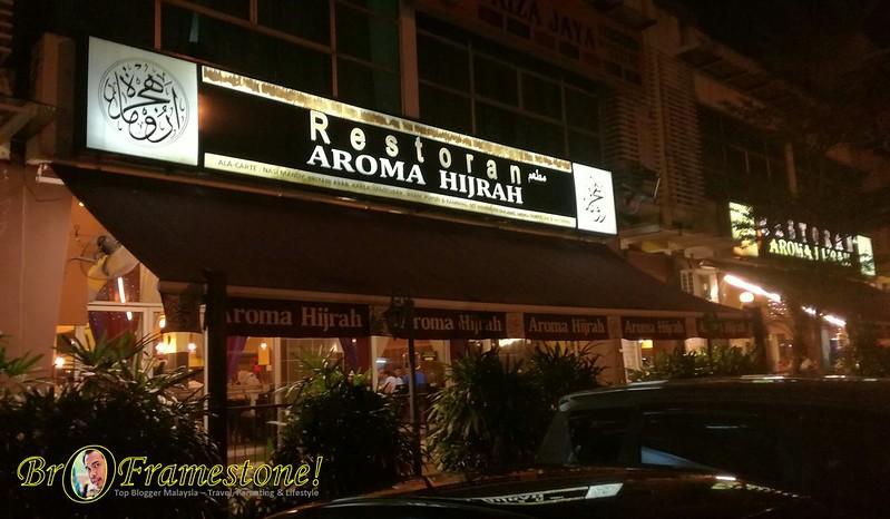 Nasi Arab Restaurant Aroma Hijrah, TTDI Jaya