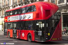 Wrightbus NRM NBFL - LTZ 1054 - LT54 - Liverpool Street 11 - Go Ahead London - London 2017 - Steven Gray - IMG_6239