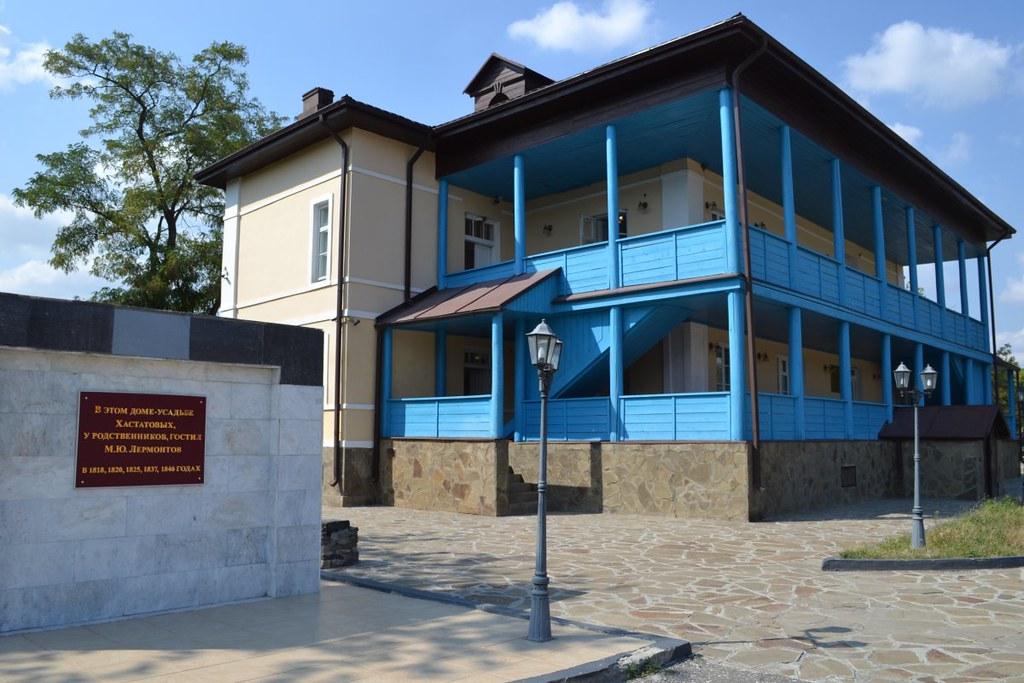 дом-имение Хастатовых в селе Парабоч Шелковского района