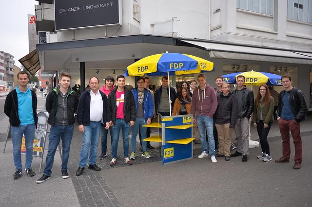 Eindrücke vom Abschlusswahlkampf zur BTW17 in Eschweiler