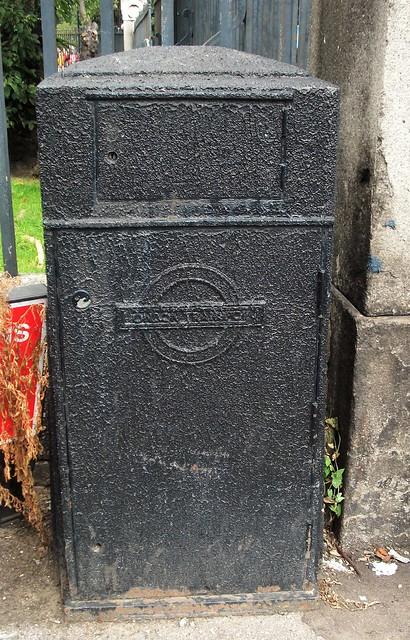 London transport Ghost Sign, Fujifilm FinePix AV130