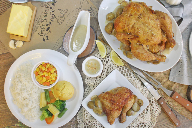 Solenn Heussaff Nico Bolzico Duane Bacon Kenny Rogers Chicken Food Garlic Butter All