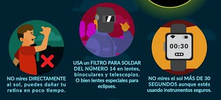 Horarios para apreciar el eclipse solar este lunes