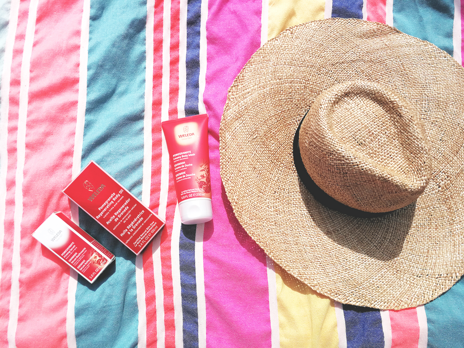 Weleda Granada belleza hidratante corporal cuidados verano beauty skin9