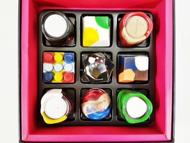 Chocolate Bonbons Box Of Mine