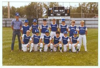 1978 Miles City Little League Team