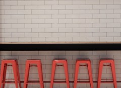 Five Red Stools