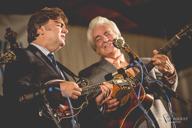 The Del McCoury Band at Delaware Valley Bluegrass Festival 9/2/2017