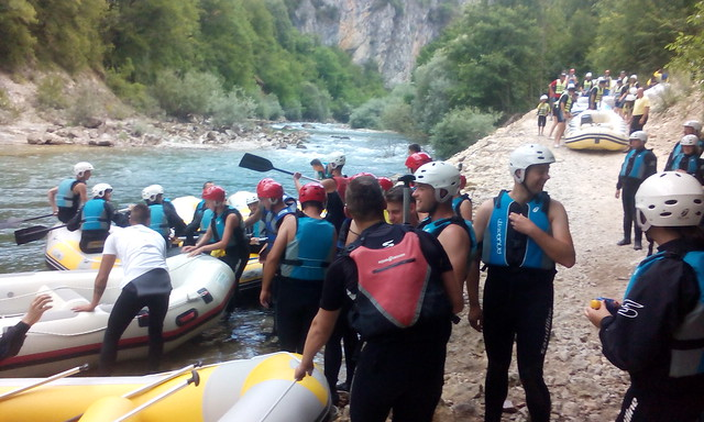 Rafting tour with us on Neretva