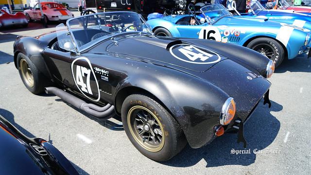 1966 Shelby Cobra back to the track at Mazda Raceway Laguna Seca