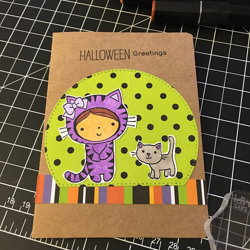 2nd Halloween card so far this yesr