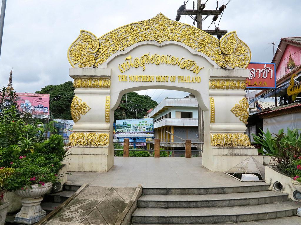 Frontera de Tailandia y Myanmar