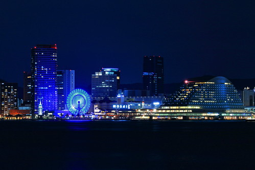 KOBE MOSAIC night view
